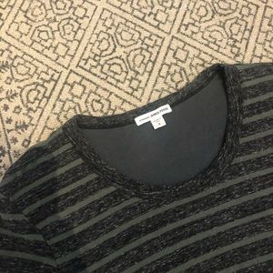 Standard James Perse Cotton Body Con Dress 3 grey